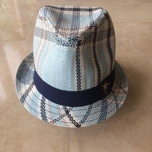 8be909213 Tampa Bay Rays Baseball Plaid Blue Fedora Hat
